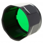 FENIX Green Filter Adaptor Cap Flashlight Signal Lamp - Green (39.7mm-Diameter)