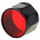 FENIX Red Filter Adaptor Cap Flashlight Signal Lamp - Red (39.7mm-Diameter)