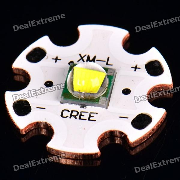 XM-L T6 910LM LED White Light Emitter with 18mm Base(2.9~3.5V)