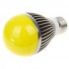 E27 5W 5-LED 220-Lumen Yellow Lamp Bulb (220V)