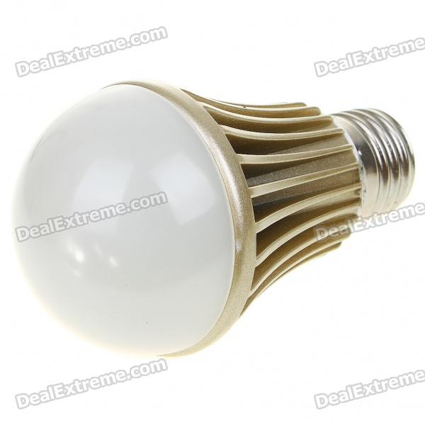 E27 5W 5-LED 420-Lumen 3500K Warm White Lamp Bulb (220V)