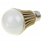 E27 5W 420lm 3500K Warm White 5-LED Globular Bulb (220V)