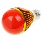 E27 5W 5-LED 220-Lumen Red Lamp Bulb (220V)