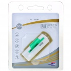 Designer's USB 2.0 Flash/Jump Drive - White + Green (8GB)