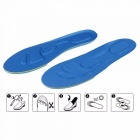 Elastic Sports Shoe Insoles Sneakers Insoles Sweat Shock Absorption Support Running Shoe Pads Breathable Insole Light Grey