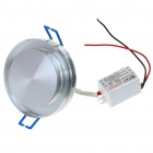 3W 150-Lumen Multi-Color LED Ceiling Lamp/Down Light with LED Driver (220V)