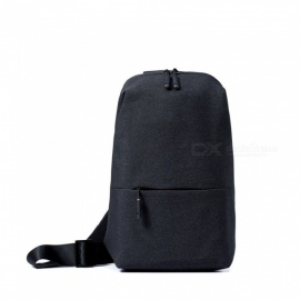 Xiaomi Backpack Sling Bag Leisure Chest Pack Small Size Shoulder Type Unisex Rucksack Crossbody Bag 4L Polyester Dark Grey