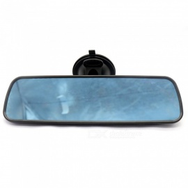 IZTOSS Large Vision Car Rearview Mirror, Black Blue Anti-Glare Baby Rear View Mirror