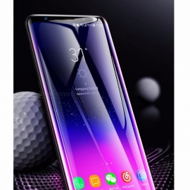 BASEUS 0.3mm Ultrathin 3D Curved Film For Samsung Galaxy S9 Tempered Glass Full Screen Protector Black/Tempered Glass