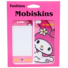 Stylish Cartoon My Melody Style Case Skin Cover Stickers for iPhone 4 - Pink