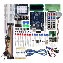 ESAMACT Latest Starter Kit for Arduino Starter Kit KIT3 Upgraded Learning Kit with Retail Box