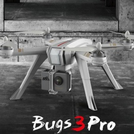 MJX B3 PRO RC Drone Quadcopter Dual GPS Follow Me Mode One-key Auto Return Brushless Motor Can Lift  C4000 Camera White