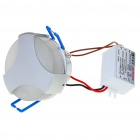 1W 80-90LM White LED Ceiling Lamp/Down Light with LED Driver (85~265V)