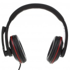 CY-817 On-Ear Stereo Headphones w/ Microphone & Volume Control (3.5mm Jack)
