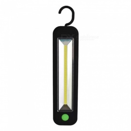 5W COB LED Working Light Magnetic Home Outdoor Camping Light Lamp With Hook 5W/Black