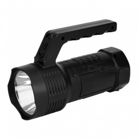 Outdoor Portable Handy COB LED Working Light Rechargeable Flashlight For Camping Hunting Fishing White/Black