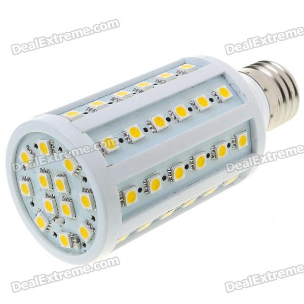E27 14.5W 880-1000LM 60x5050 SMD LED White Corn Light Bulb (220V) fengyangdengshi 018 e27 3w 90lm 6500k white light 48 3528 smd led corn lamp white yellow 220v