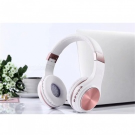 KELIMA SY-BT1601 Bluetooth 4.2 Headset Wireless HIFI Subwoofer Stereo Headband Headphone - White