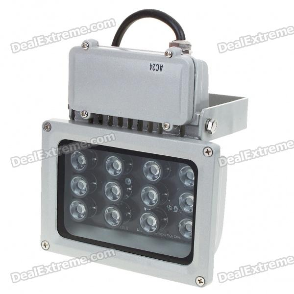 12W 12-LED 400-500LM Seven-Colored Flood Light/Projection Lamp (24V)