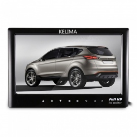"KELIMA 7"" Full HD Car Parking Reversing Display Monitor - Black"