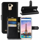 Naxtop Phone Wallet Flip Leather Holder Cover Case for Oukitel K5000 - Black