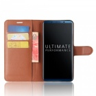 Naxtop Phone Wallet Flip Leather Holder Cover Case for Huawei Mate 10 Pro - Brown