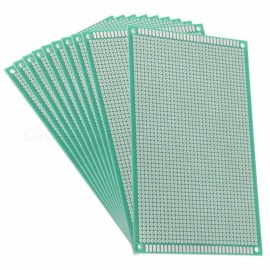 BTOOMET 9x15cm Single Sided Universal Printed Circuit Board for DIY Soldering (10 PCS)