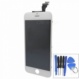 Repair Replacement Capacitive Touch Screen with Disassembling Tool for IPHONE 6 PLUS 5.5 Inch - White