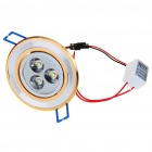 3W 220-250LM White LED Ceiling Lamp/Down Light with LED Driver (85~265V)