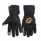 RidingTribe Winter Motorcycle Gloves Warm Anti-skid Touch Screen - Black (Size M / Pair)