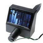 Solar Self-Recharge 60-LED Tree Light (Red LEDs)