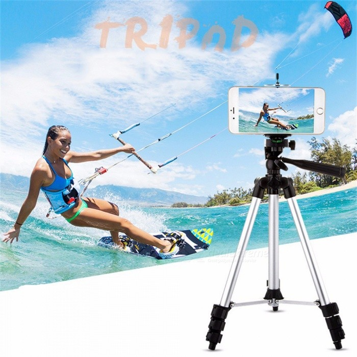 Bimbo Mobile Phone Camera Tripod Bracket Three Lazy SLR Camera Video From  The Camera Live Support Tripods Silver