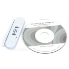 USB 2.0 802.11n 150Mbps Wifi/WLAN Wireless Network Adapter - White
