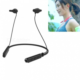 ESAMACT Gas Conduction Sports Bluetooth V4.2 Earphone Headphone, Outdoor Running Cycling Headset with Mic for Android iOS