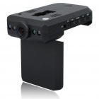 "5.0 MP Wide Angle 4-LED Flash Digital Car DVR Camcorder w/ Mini USB/SD (2.3"" LCD)"