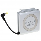 2400mAh Rechargeable External Power Pack for PSP 2000/3000 - Silver