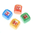 Roll and Tap Activated Digital LED Dice (4-Pack Assorted Colors)