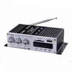 Lepy LP - A7USB Bluetooth Power Amplifier FM SD USB MP3 Player For Home Car Black