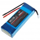 Mystery 11.1V 5000mAh Lithium Polymer Rechargeable Battery for R/C Helicopters - Blue