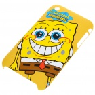 Protective Back Case with Screen Guard + Cleaning Cloth for iPhone 3G/3GS - SpongeBob