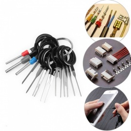 ESAMACT 11Pcs Terminal Removal Tools, Car Plug Circuit Board Wire Harness Terminal Extractors