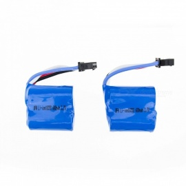 2Pcs 3.7V 18350 600mAh Li-po Battery for Hubsan H107 H107C SYMA X5C JJRC H8 mini