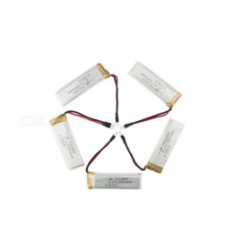 5pcs 3.7V 550mah li-po batteri for hubsan H107 H107C SYMA X5C JJRC H8 mini