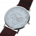 Stylish Business Quartz Wrist Watch - Brown (1*377)