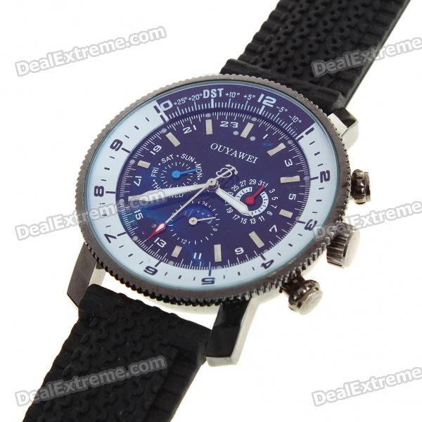 Stainless Steel Self-Winding Mechanical Wrist Watch