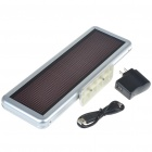 Rechargeable 16 x 64 LED Digital Desktop Display Board