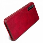 NILLKIN Qin Series Wallet Flip Cover Case For Huawei P20 Pro Flip PU Leather Window View Case Phone Cover Red