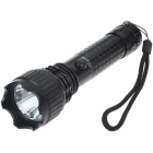 UltraFire 9021 3-Mode 450-Lumen Memory White LED Flashlight w/ CREE Q3 / Battery Set (1*18650)