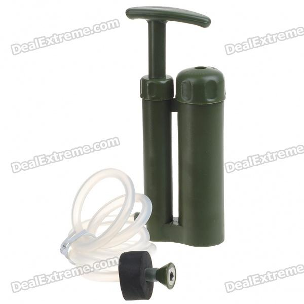 Compact Portable Hiking Camping Soldier Water Filter Purifier