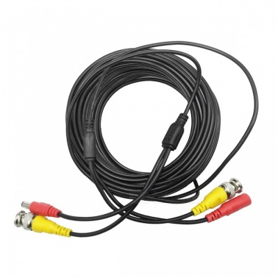 BNC Video/Power Extension Cable for CCTV Camera (10M-Length)